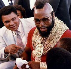 Muhammad Ali & Mr. T