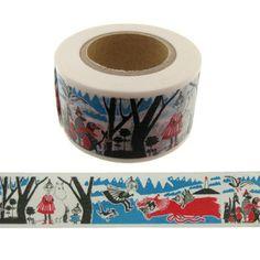 【ムーミン】マスキングテープ(絵本シリーズ/ミイと海)moo-bk002