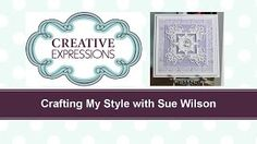 This is a stunning project by Sue Wilson; In this free online tutorial video, Sue Wilson will show you how to create a really simple and ele. Card Making Tips, Card Making Tutorials, Card Making Techniques, Craft Tutorials, Video Tutorials, Christmas Angels, Christmas Cards, Sue Wilson Dies, Online Tutorials