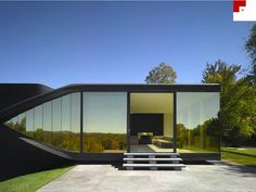 Villa NM by Ben Van Berkel. I love big glass windows, and tinted windows provide privacy. Awesome!