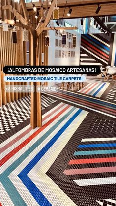 Flooring, Contemporary, Mosaic Floors, Rugs, Inspiration, Inspired, Home Decor, Mosaics, Farmhouse Rugs