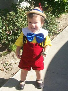 Disfraz de pinocho - Cute Pinocchio Costume
