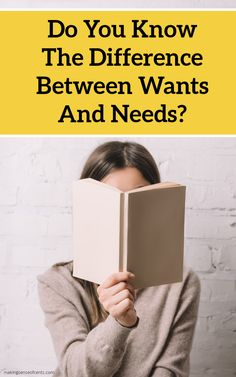 Do You Know The Difference Between Wants And Needs? #wantsandneeds Managing Your Money, Budgeting Tips, Financial Planning, Finance Tips, Money Management, Money Saving Tips, Extra Money, Personal Finance, Did You Know