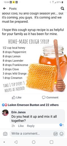 Essential Oil Chart, Essential Oils For Colds, Thieves Essential Oil, Young Living Essential Oils, Homemade Reed Diffuser, Yl Oils, Young Living Oils, Be Natural, Cough Syrup