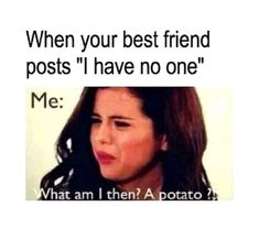 Top 19 Funny Friendship Memes To Share With Your Bestie Funny Best Friend Memes, Crazy Funny Memes, Really Funny Memes, Stupid Funny Memes, Funny Facts, Funny Relatable Memes, Friends Funny Quotes, Best Friend Stuff, Facebook Friends Quotes