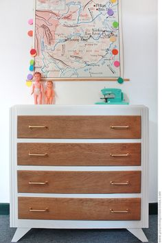 Painted Furniture, Vintage, Dressers, Apartment Ideas, Painting, Home Decor, Home Ideas, Small Chest Of Drawers, Child Room