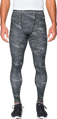 5a32f325e55 Under Armour Men s HeatGear Armour Printed Compression Leggings
