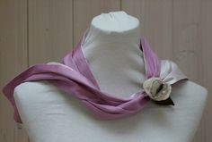"""Dearmcolours"" Silk- scarf  size S from Veonia by DaWanda.com"