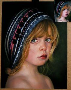 Rado Stanchev Art: PASTEL PORTRAITS