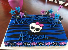 monster high birthday cakes | Email This BlogThis! Share to Twitter Share to Facebook