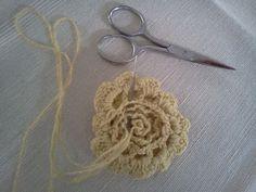 modèles au crochet gratuit Magnifique tout simplement fleur - Crochet gratuit