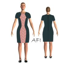 Croitorie | AFI Hourglass Dress, Bra Pattern, Lingerie, Color Blocking, Dress Skirt, Sewing Patterns, Indie, Dresses For Work, Skirts