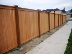 wood privacy fence | ... Chain Link, Picket Fences, Privacy Fences, Garden Fences, Wood Fences