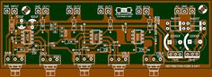 Layout PCB Audio Distributor 4 Way Komplit Diy Amplifier, Class D Amplifier, Electronic Kits, Electronic Schematics, Layout Pcb, Crossover, Illusion Pictures, Tag Store, Audio