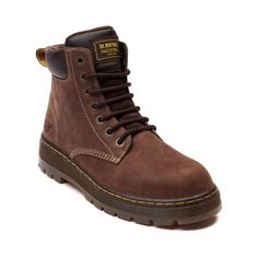 Shop for Mens Dr. Martens Winch Steel Toe Boot in Brown at Journeys Shoes.