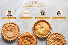 We Tested 4 Well-Loved Apple Pie Recipes. Here's How They Compared Best Ever Apple Pie, Perfect Apple Pie, Best Pie, Best Apples For Baking, Pie Dough Recipe, Apple Pie Recipes, Apple Pies, Sweet Recipes, Cake Recipes