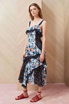 Tanya Taylor Resort 2018 Fashion Show Collection