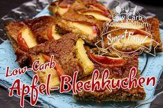 Low-Carb Apfel-Blechkuchen - den klassischen Blechkuchen als himmlisches Low-Carb-Backwerk neu erfunden. Also backe los und genieße! :)