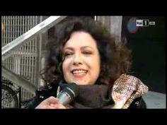 """Sanremo 2014 - Antonella Ruggiero ai microfoni di """"La vita in diretta"""""""
