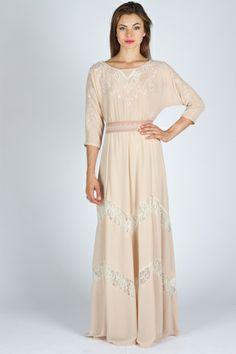 1000 images about high priestess on pinterest linen for Dolman sleeve wedding dress