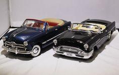 Online veilinghuis Catawiki: Mira - Schaal 1/18 - Kavel met 2 modellen: Buick 1955 en Ford 1949