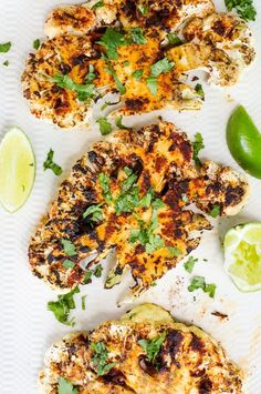 Recipe: Grilled Chipotle Lime Cauliflower Steaks — Recipes from The Kitchn | The Kitchn