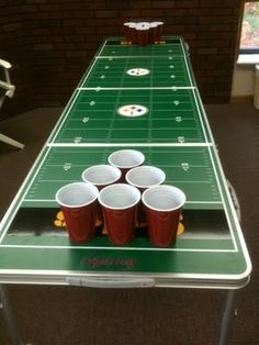 Tailgate Pong NFL Table - Party Rental Item