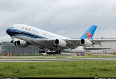 China Southern Airlines - It is the world's sixth-largest airline by passengers carried and Asia's largest airline in fleet size, it also flies to 193 destinations using a fleet of more than 400 aircraft. Photo taken by Siegi
