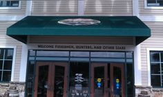 Bass Pro Shop Myrtle Beach WELCOME FISHERMEN HUNTERS AND OTHER LIARS