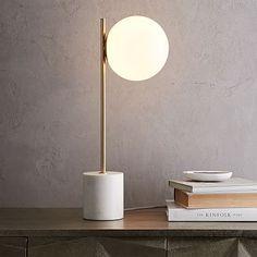 Sphere + Stem Table Lamp #westelm