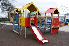 Our range of Zenith tower systems are great for packing a lot of play opportunities into one piece of playground equipment. Features can include: 1m slide, climbing net, clatterbridge, crawl tunnel and an inclined ramp. ZENITH TOWER SYSTEM SHOWN: Z104 Zenith Four