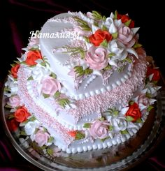Фотография Pretty Cakes, Beautiful Cakes, Amazing Cakes, Birthday Cake Prices, Valentines Sweets, Cool Cake Designs, Cake Pricing, Fresh Flower Cake, Funny Cake