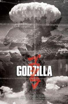 Awesome Godzilla 2014 vs. Muto Fan Art Movie Poster ...