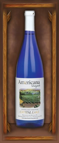 Crystal Lake. American Vineyards. Easy wine to Love. Nothing fancy about it - just plain great!! Great folks at Americana :)
