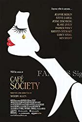 The story of a young man who arrives in Hollywood during the hoping to work in the film industry, falls in love, and finds himself swept up in. Parker Posey, Steve Carell, Woody Allen, Blake Lively, Kristen Stewart, Café Society, Ken Stott, Corey Stoll, Movie Talk
