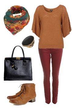 Love angel sleeve tops and the colours are just so right for Fall