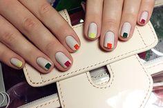Jin Soon Choi colorful nail art