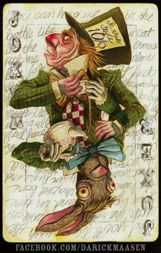 Alice in Wonderland:  The #Mad #Hatter.