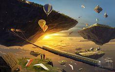 A Separate Reality 08 by Alex Andreyev, via Behance