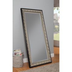 Sandberg Furniture Full Length Leaning Mirror - 32W x 66H in. | from hayneedle.com