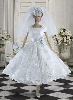 Not Barbie Barbie Bridal, Barbie Wedding Dress, Wedding Doll, Barbie Gowns, Barbie Dress, Barbie Clothes, Wedding Dresses, Barbie Doll, Fashion Royalty Dolls