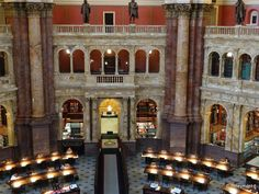 The Library of Congress, Washington D.C.