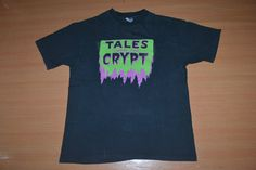 Vintage 1996 TALES From The CRYPT horror comic tv series movie indie Film T Shirt by OldSchoolZone on Etsy
