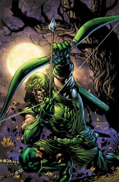 Green Arrow by Tyler Kirkham