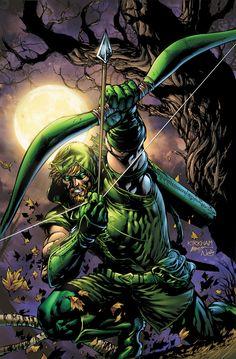 Green Arrow by Tyler Kirkham