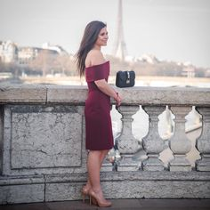 This dress and this view... Amazing!   by the talented @solli_k  www.liketk.it/2fPJR #friyay #paris