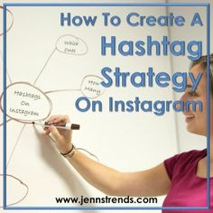 How to Create a Hashtag Strategy on Instagram - Jenn's Trends