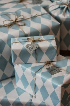 Wrapping is a gift too! || Jislaine ♥ to inspire you! #packaging