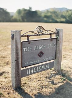 Rustic Elegant Wedding from Jose Villa at The Ranch Club Hacienda. A Day filled with wedding delight - as only Jose can do! http://www.StyleMePretty.com/2014/02/06/elegant-carmel-wedding-with-photography-by-jose-villa/