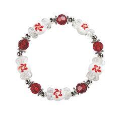 Peppermint+Lampwork+Bracelet+Kit+-+OrientalTrading.com